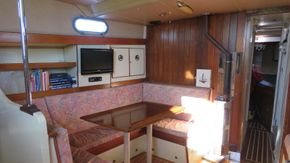 port side main cabin