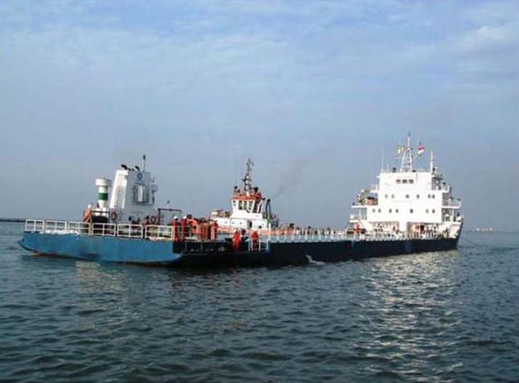 Heavy Cargo Carrier Self Propelled Barge 3600DWT