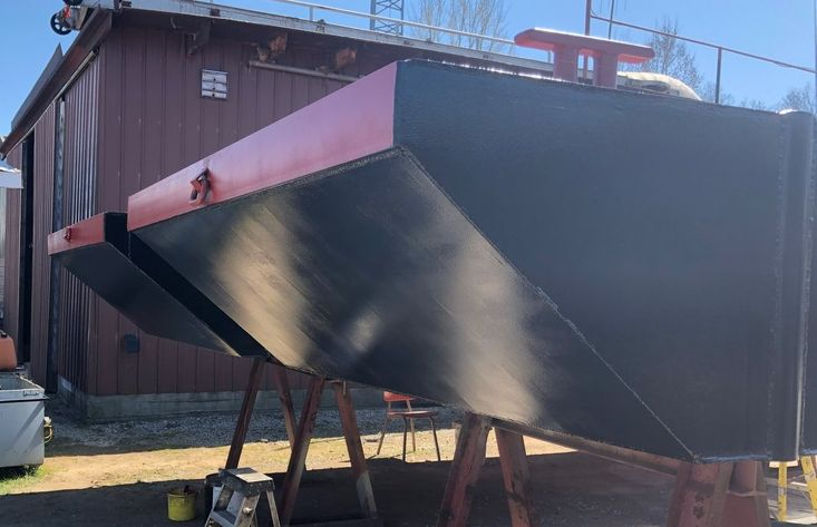 2021 24′ x 16'6 x 30″ Sectional Barge - READY TO GO!