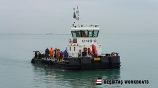 15 Meter Multicat /Heavy Duty Workboat with crane and winch(New Build)