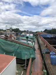154ft x 17ft 6ins ex commercial barge Ideal to live on with workshop