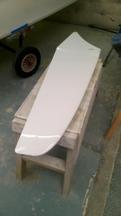 Laser 2000 / RS Quest centreboard