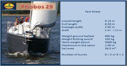 Dalpol Phobos 29 yacht for sale