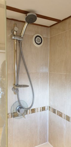 Shower in bath