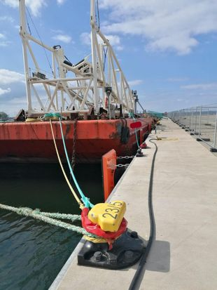 91m Flattop Barge
