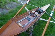 Timber single scull