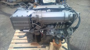 Yanmar 4LH-DTE Marine Diesel Engine Breaking For Spares