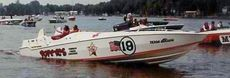 1980 Cigarette Racing  - Don Aronow 'Bubbledeck'