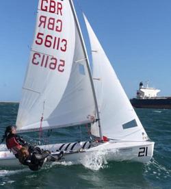 Racing 420, Sail 56113