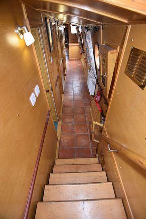 Corridor from rear entrance