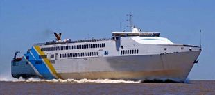 412' ROPAX FAST FERRY