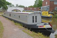 New 57ft Cruiser Stern Narrowboat