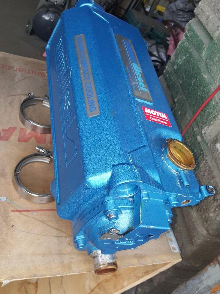 Nanni 4 cylinder heat exchanger