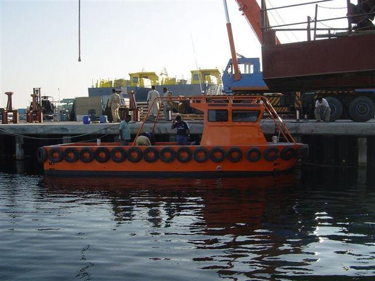 MOC Shipyards 9m Harbour Lines Boat