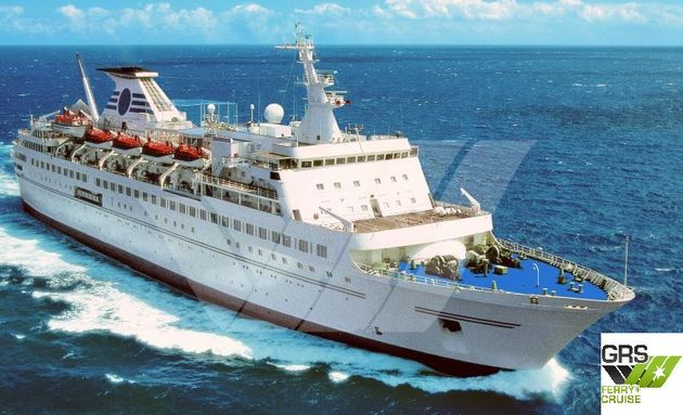 PRICE REDUCED // 157m / 554 pax Cruise Ship for Sale / #1011495