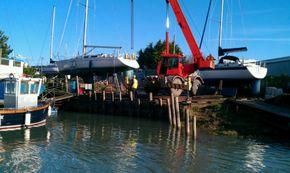 25 ton onsite crane