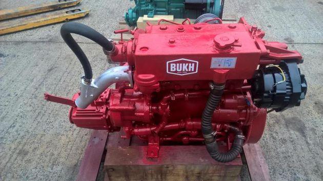 Bukh DV36 36hp Marine Diesel Engine Package VERY LOW HOURS!!!!!
