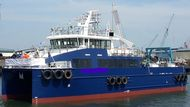 Crew Utility Survey Vessel