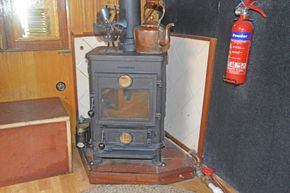 Diesel fired stove