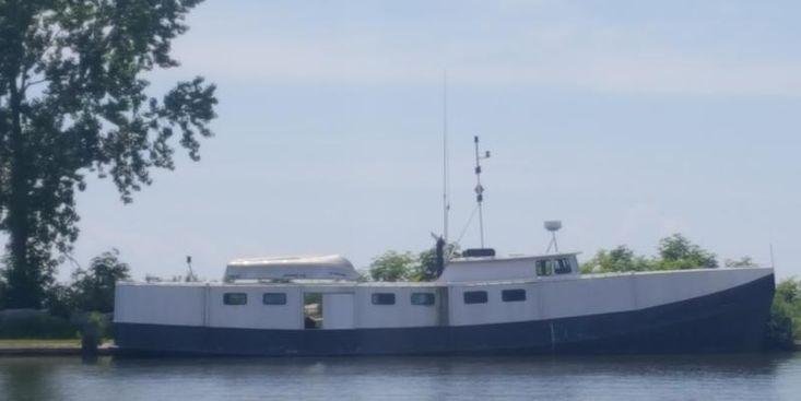 71' x 18.5' x 6' Steel Commercial Fishing Vessel