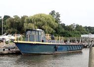 "1971 45' x 14'6"" x 4' Camcraft  Crew Boat"
