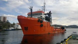 Multi Role ERRV Offshore Fifi2 supply towing arrangment