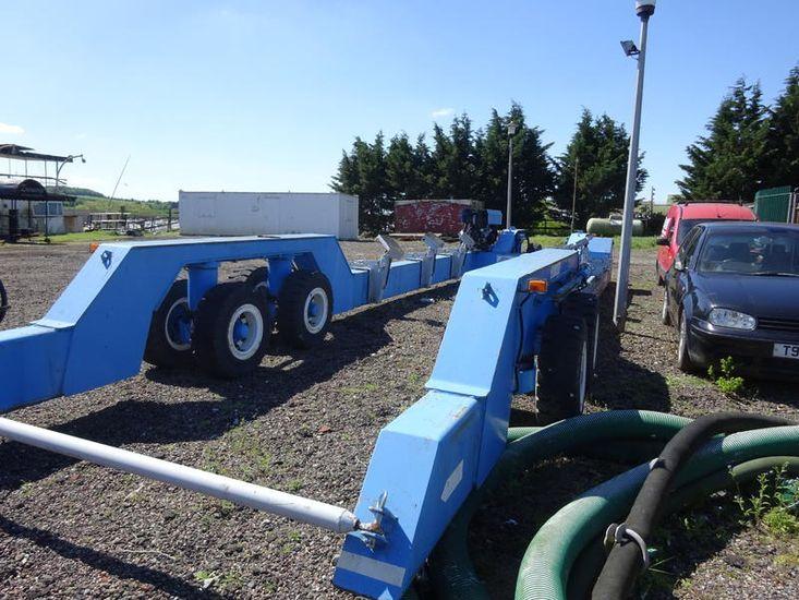 Ascom ABI 60 tonne boat mover/ trailer