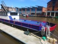 Luxury Barge in Gloucester Quays