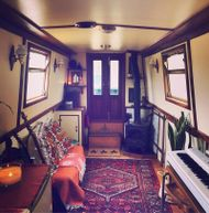 Off-grid Narrowboat 55' Semi-trad Liveaboard with Gold licence
