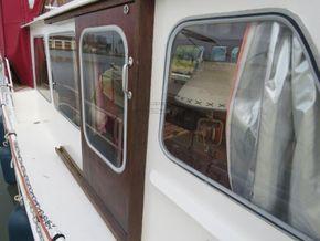 Dutch Steel Cruiser Canal and river cruiser - Side Deck