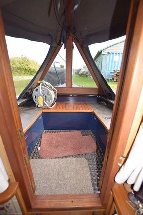 Well deck from inside