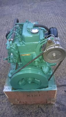 Volvo Penta MD7b 17hp Marine Diesel Engine Package