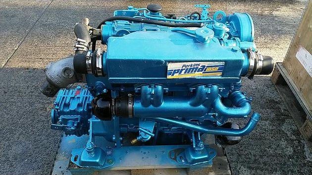 Perkins Prima M50 50hp Marine Diesel Engine Package
