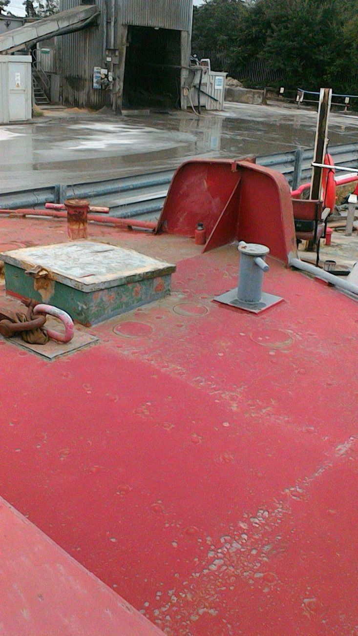 163ft ex Commercial Barge - can be shortened at very reasonable cost
