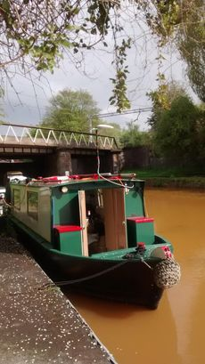 35ft 2berth narrow boat