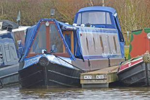 57ft Enhanced Cruiser Stern Narrowboat