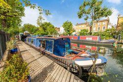 Lovely narrowboat in Little Venice, W2