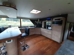 Dutch Barge 27.65 Well equiped liveaboard with TRIWV valid until nov 2023 - Galley