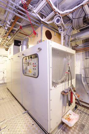 AUX engine diesel generator 1