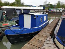 "23ft 6"" Traditional narrowboat"