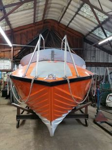 McLachlan, rare 1970's inshore lifeboat