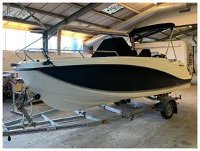 Quicksilver 555 Open (for sale through Rock Marine Services Ltd)