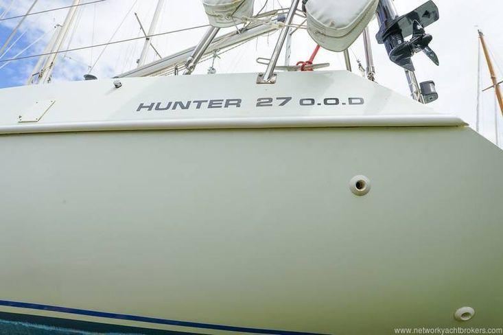1988 Hunter 27 OOD