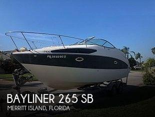 2008 Bayliner 265 SB