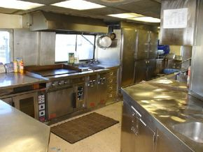 Commercial Galley Full complement of equipment