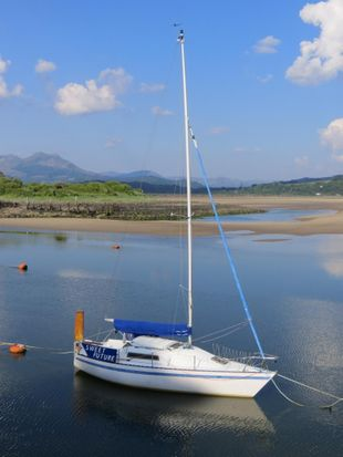 Trapper TS 240 sailing boat  24 ft with lifting keel