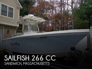 2005 Sailfish 266 CC