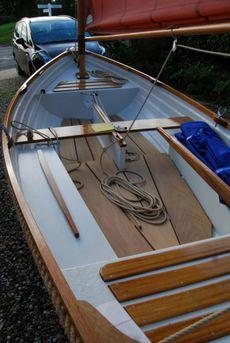 2021 NEW 12ft Smacks Boat Sailing Dinghy