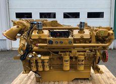 610 HP CATERPILLAR 3412E RECONDITIONED MARINE ENGINES