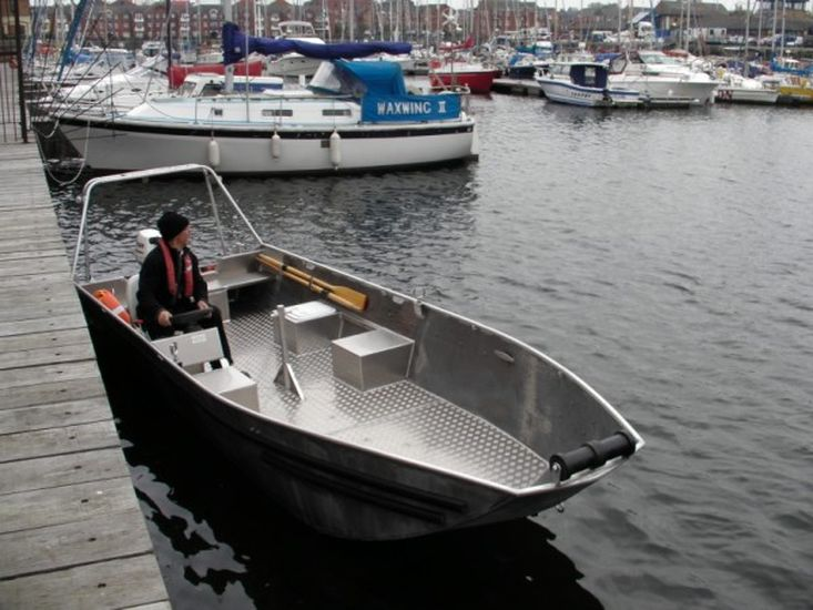 4.80m Alloy Utility Boat